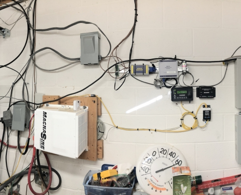 Magnum inverter with our Battery Monitoring Kit