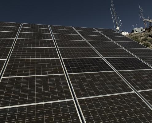 Solar Array at Lower Estrella Building