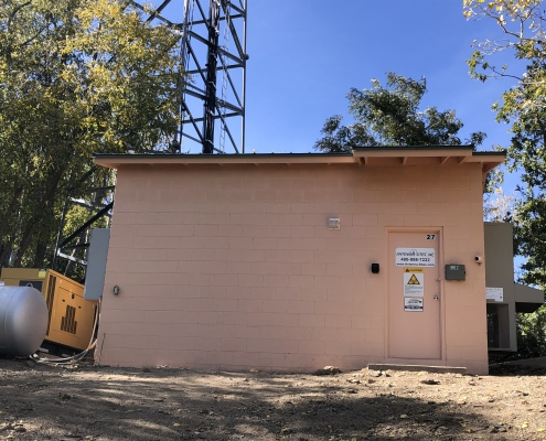 Pinal shelter has been all painted and new roof has been installed.